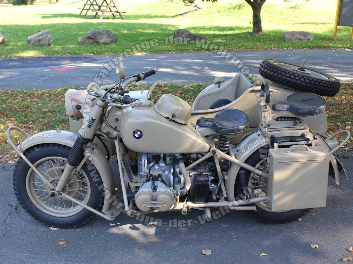 Bmw R 75 Gespann 1943 Bmw R75 Classic German Motorcycles