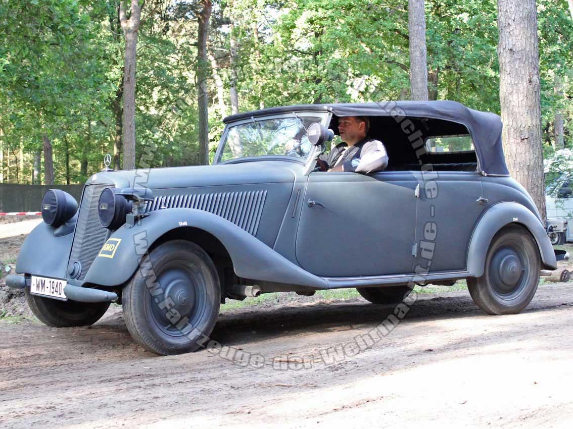 Mercedes benz 170 v vk fahrzeuge der for Mercedes benz of barrington